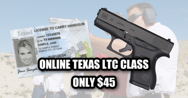 Texas Online Carry Course
